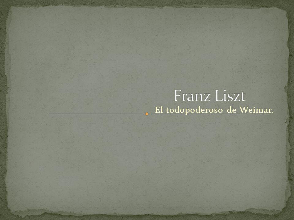 El todopoderoso de Weimar.