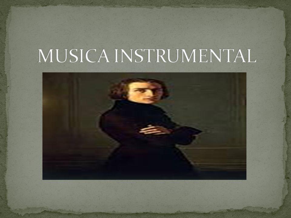 MUSICA INSTRUMENTAL