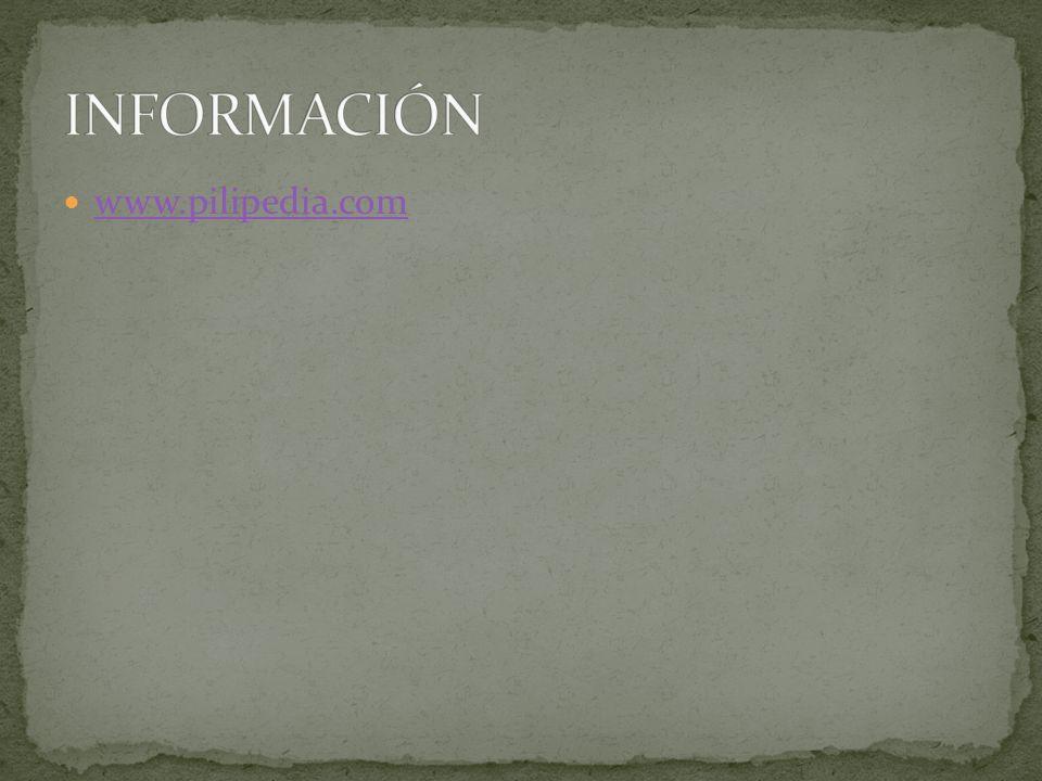 INFORMACIÓN www.pilipedia.com