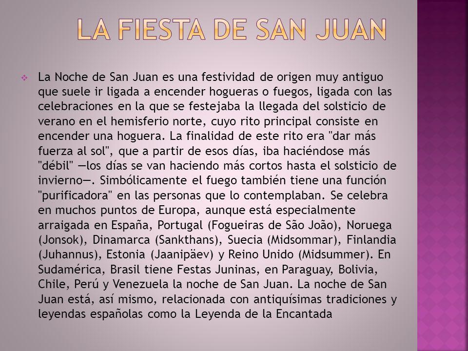 La fiesta de San Juan