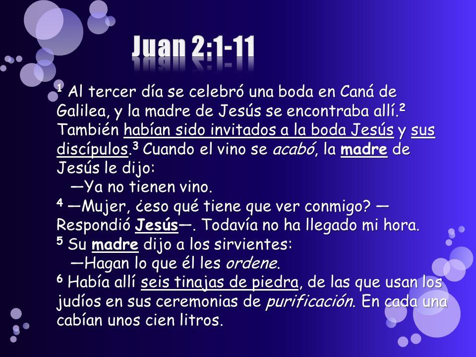 Juan 2:1-11