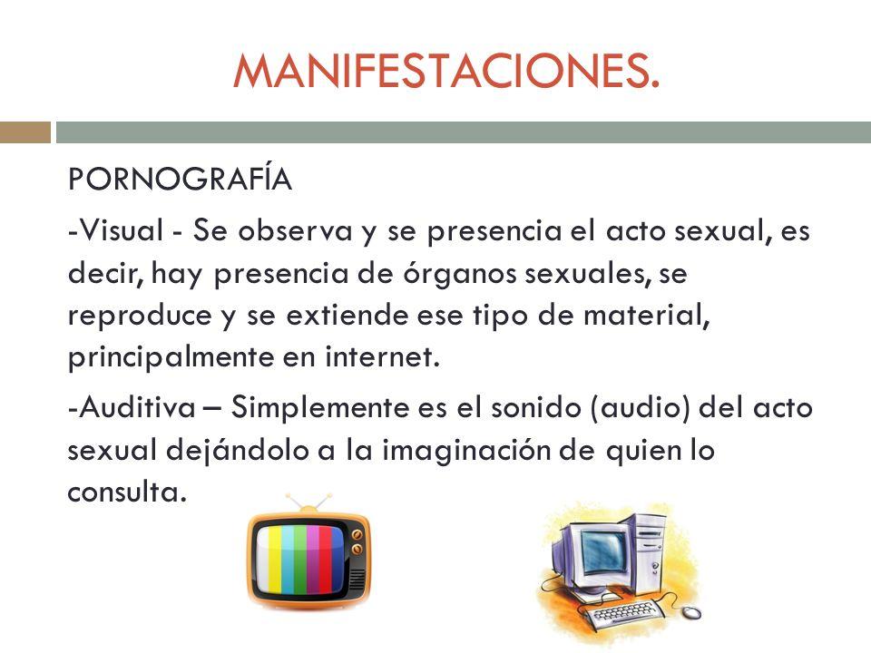 MANIFESTACIONES.