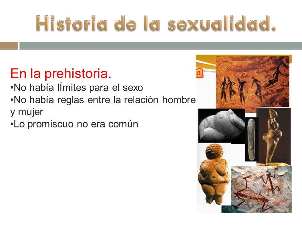 Historia de la sexualidad.