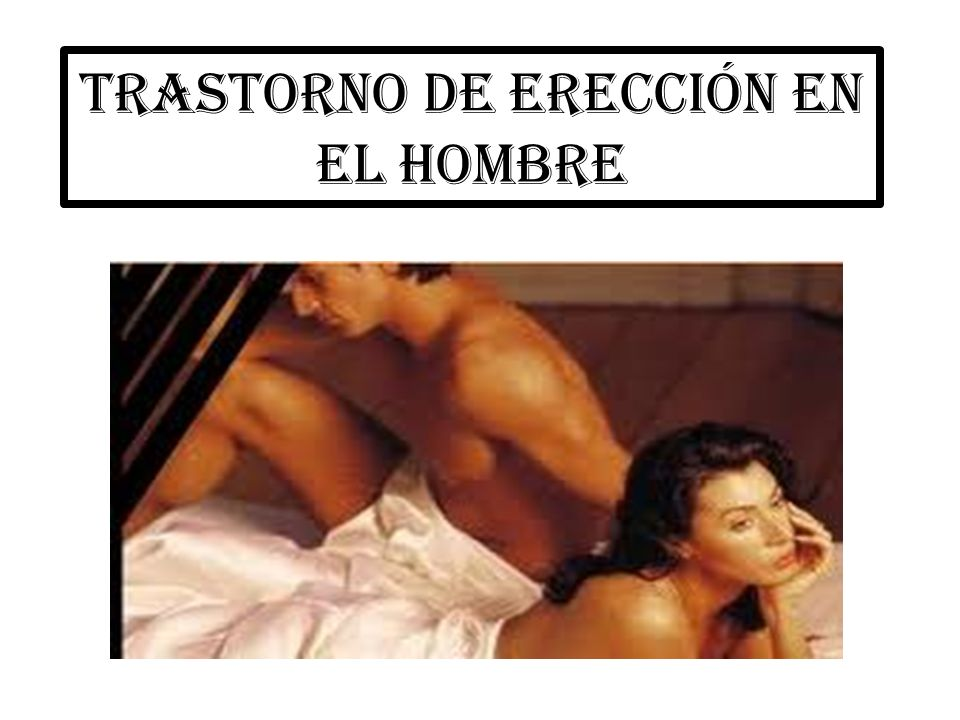 que es ereccion masculina