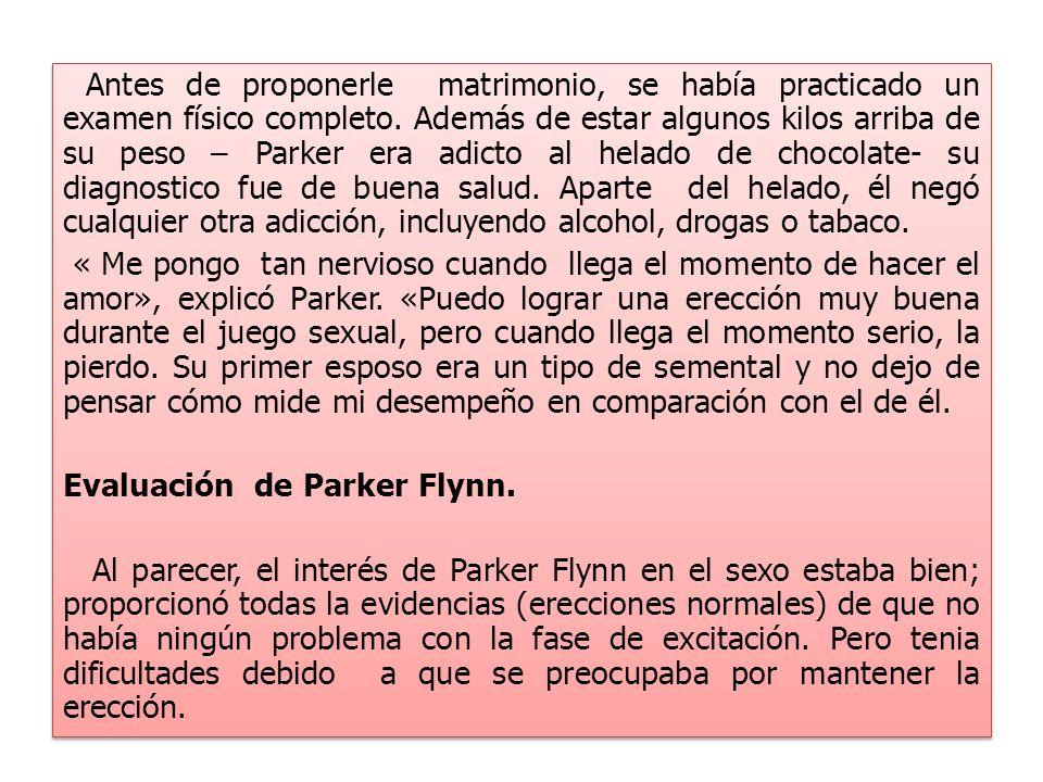 Evaluación de Parker Flynn.