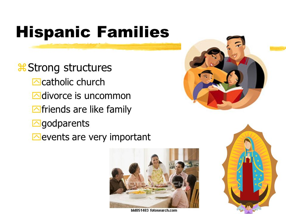 Hispanic Families Strong structures catholic church
