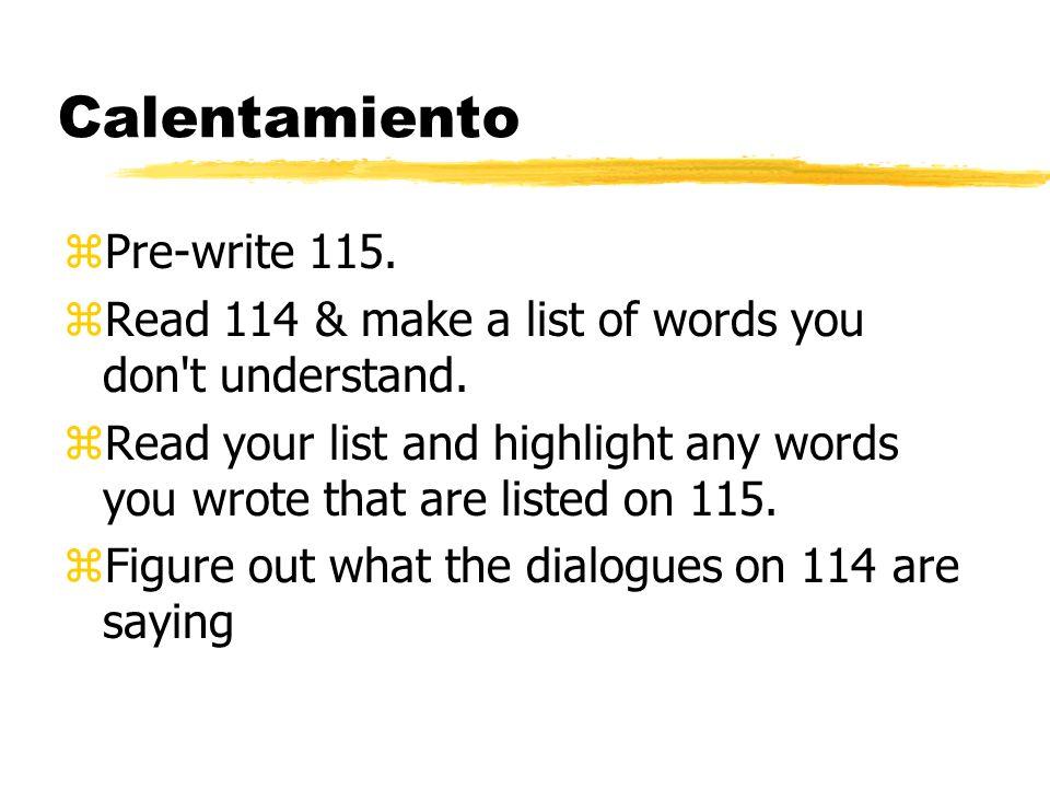 Calentamiento Pre-write 115.