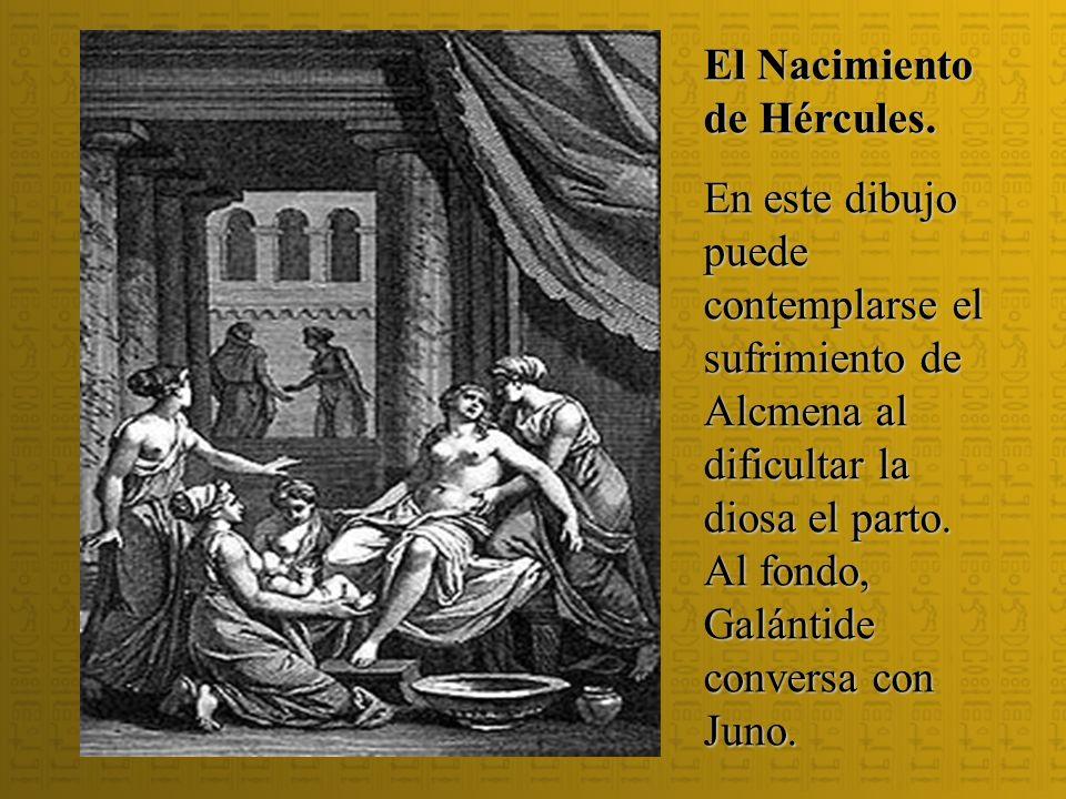 El Nacimiento de Hércules.