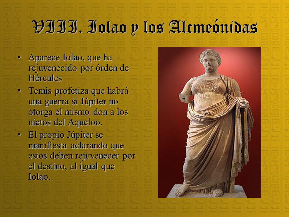 VIII. Iolao y los Alcmeónidas