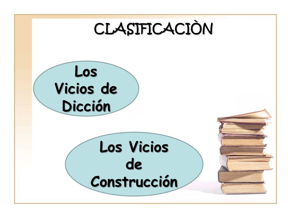 Los Vicios de Construcción