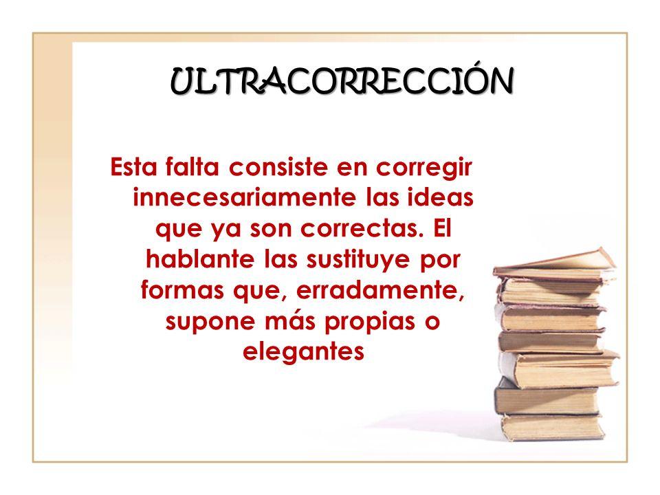 ULTRACORRECCIÓN