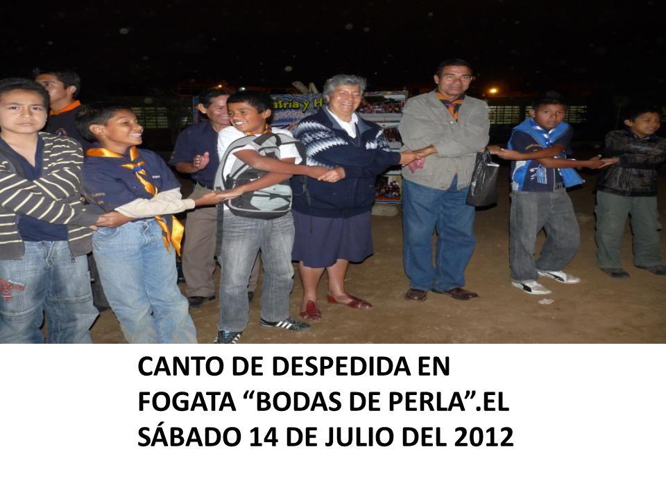 CANTO DE DESPEDIDA EN FOGATA BODAS DE PERLA