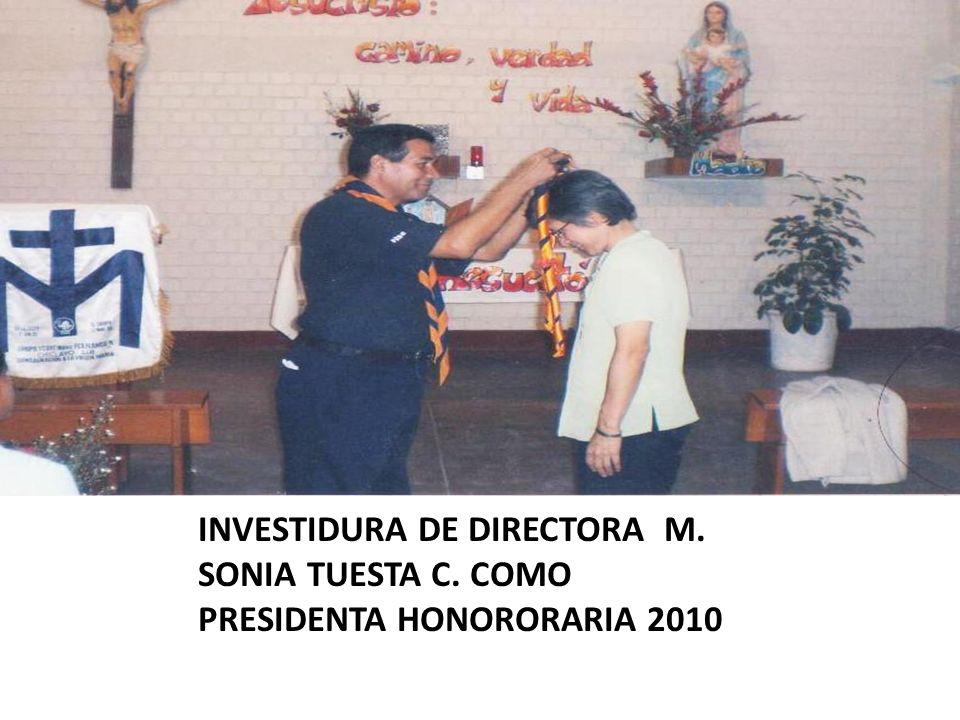 INVESTIDURA DE DIRECTORA M. SONIA TUESTA C