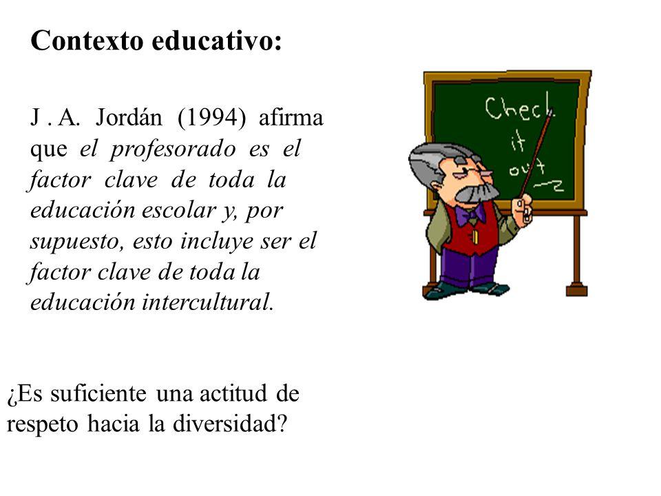 Contexto educativo: