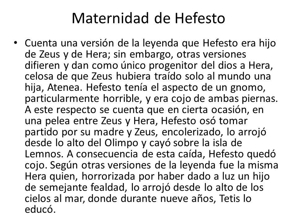 Maternidad de Hefesto