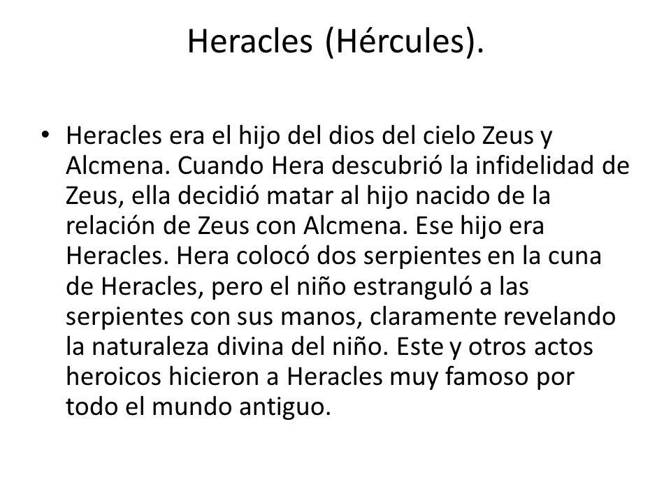 Heracles (Hércules).