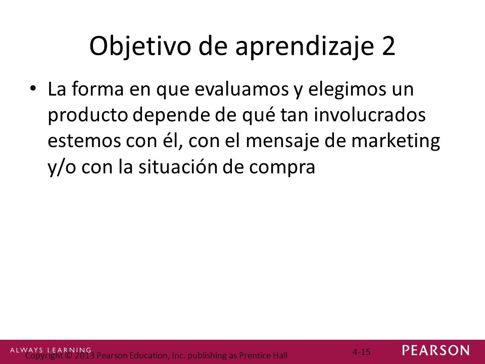 Objetivo de aprendizaje 2