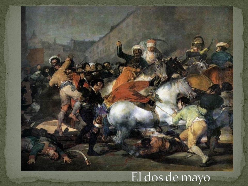 Napoleón invadió a España y puso a su hermano José en el trono
