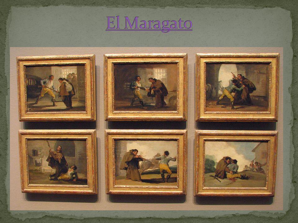 El Maragato A veces Goya pintó un serie de dibujos como un cuento.