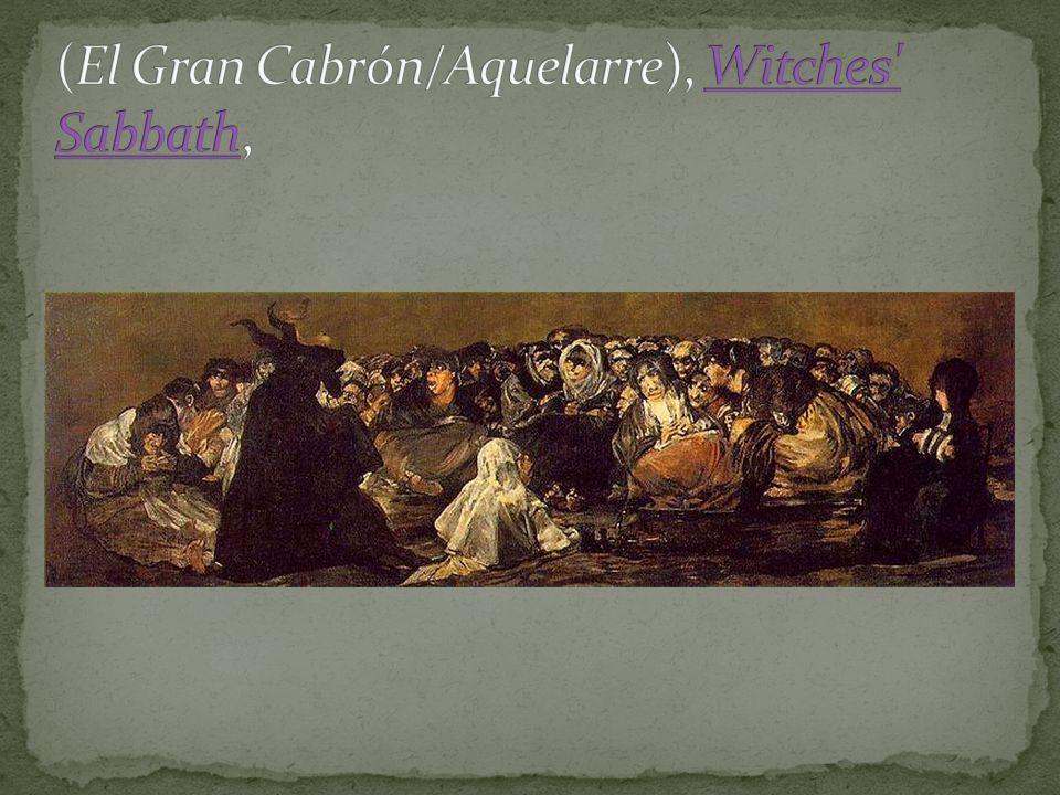 (El Gran Cabrón/Aquelarre), Witches Sabbath,