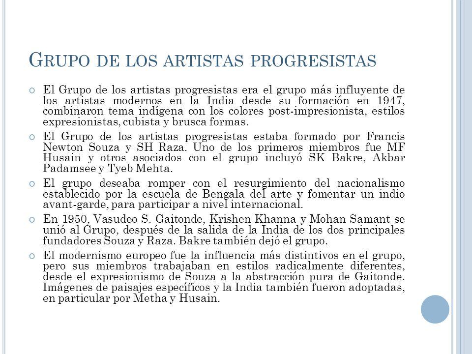 Grupo de los artistas progresistas
