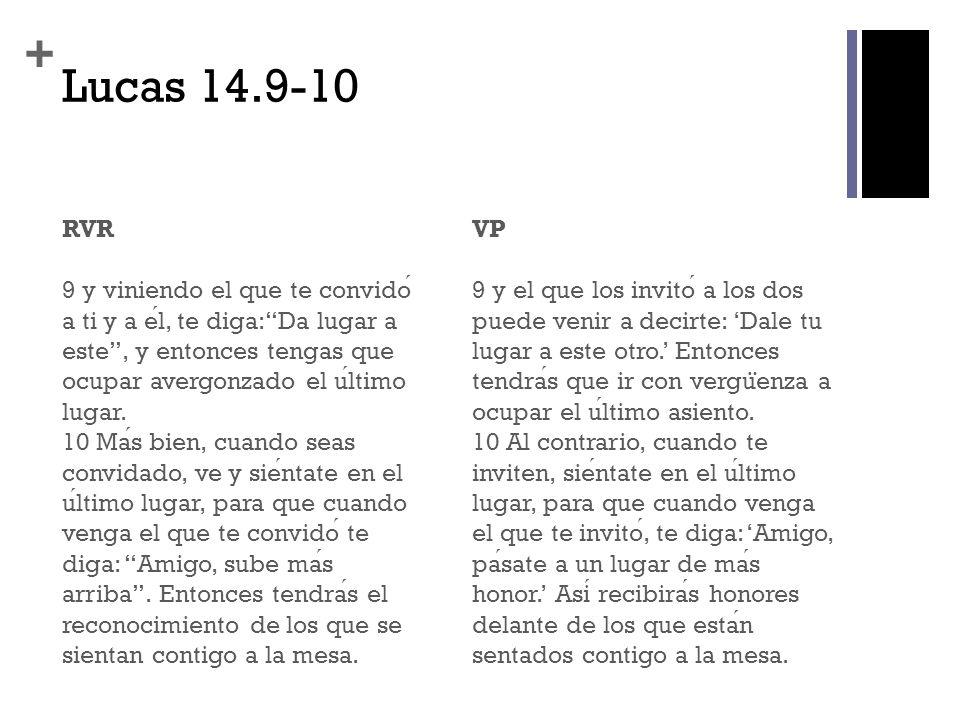 Lucas 14.9-10