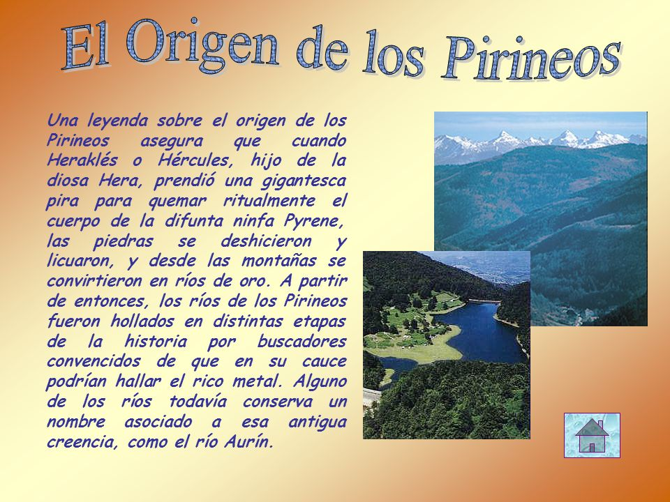 El Origen de los Pirineos