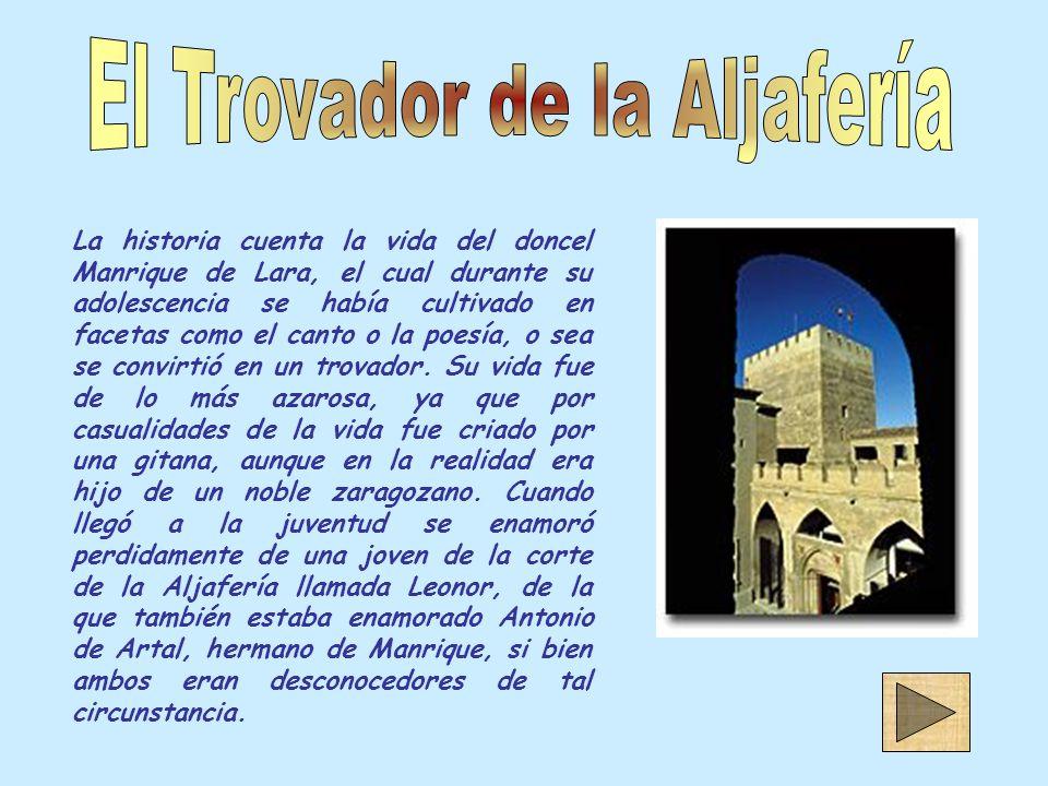 El Trovador de la Aljafería