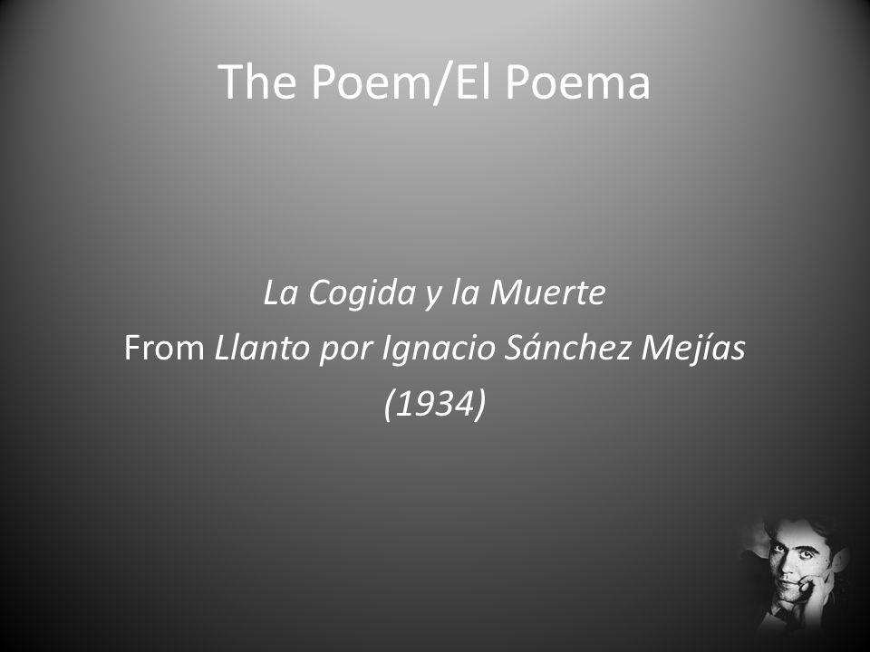 La Cogida y la Muerte From Llanto por Ignacio Sánchez Mejías (1934)