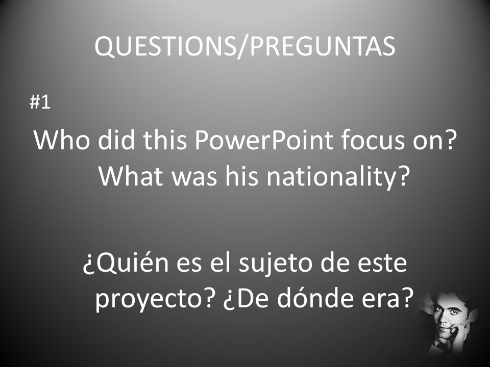 Who did this PowerPoint focus on What was his nationality