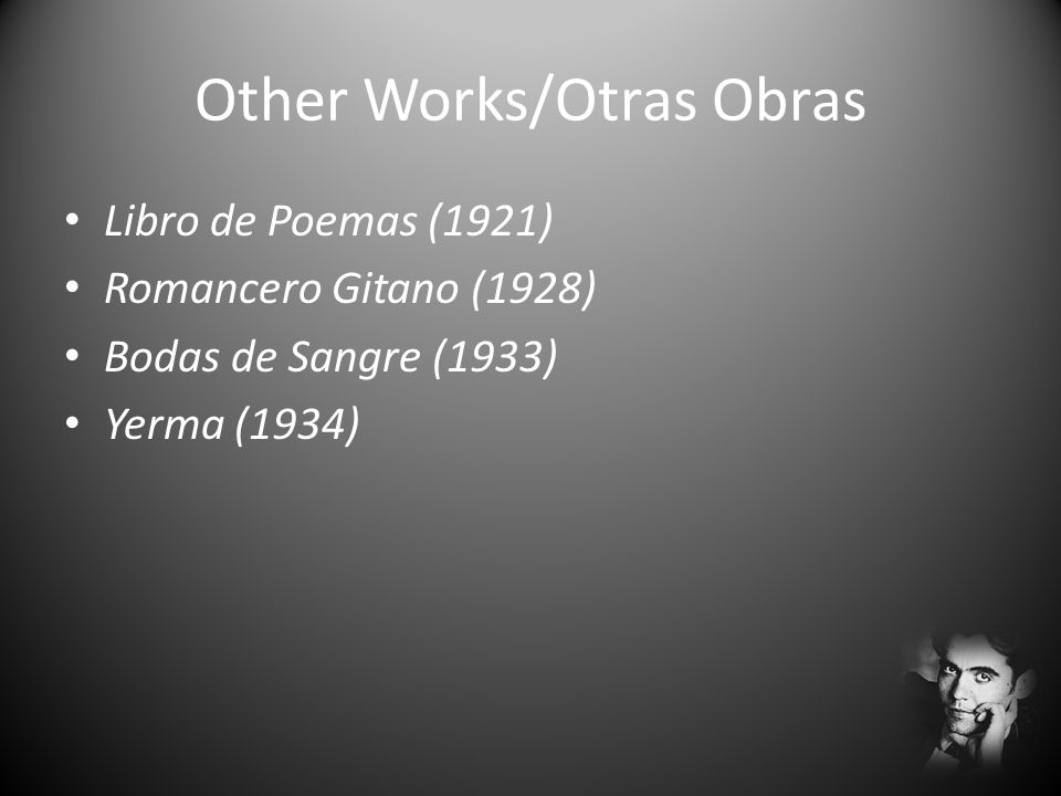 Other Works/Otras Obras