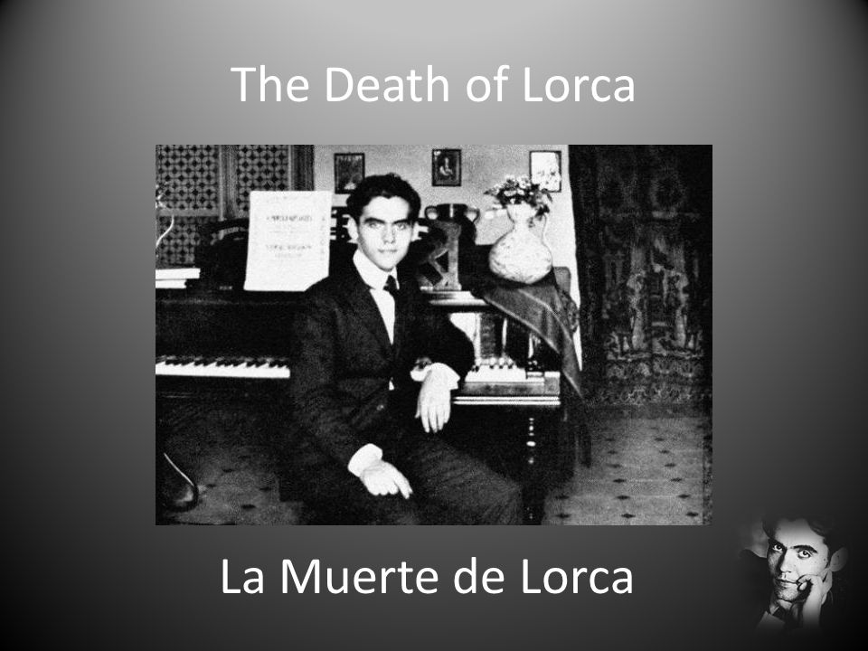 The Death of Lorca La Muerte de Lorca
