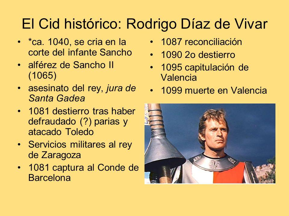 El Cid histórico: Rodrigo Díaz de Vivar