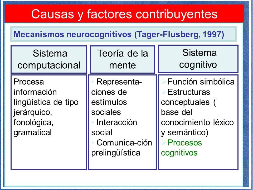 Causas y factores contribuyentes