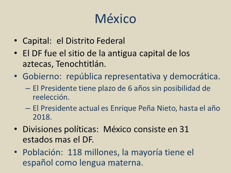 México Capital: el Distrito Federal