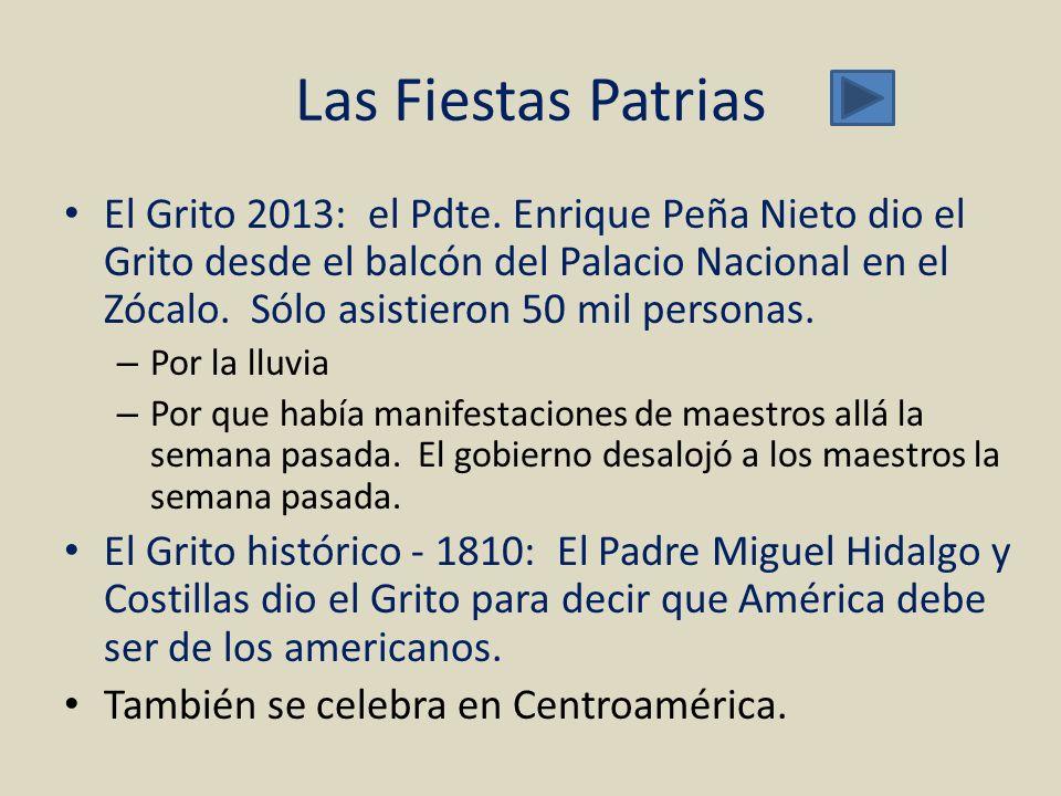 Las Fiestas Patrias
