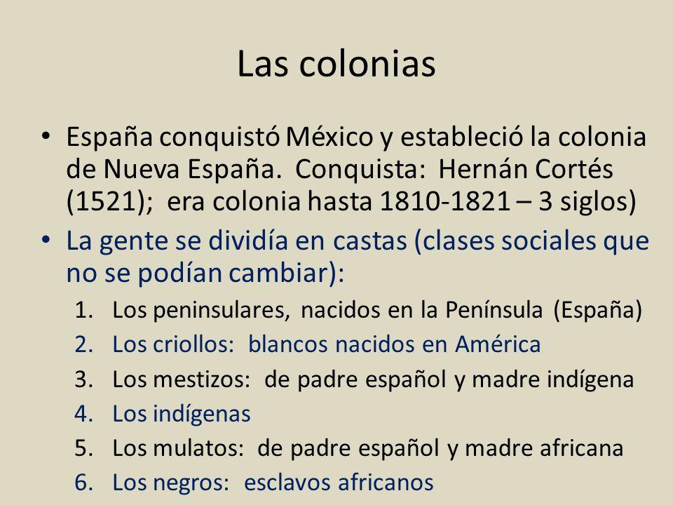 Las colonias
