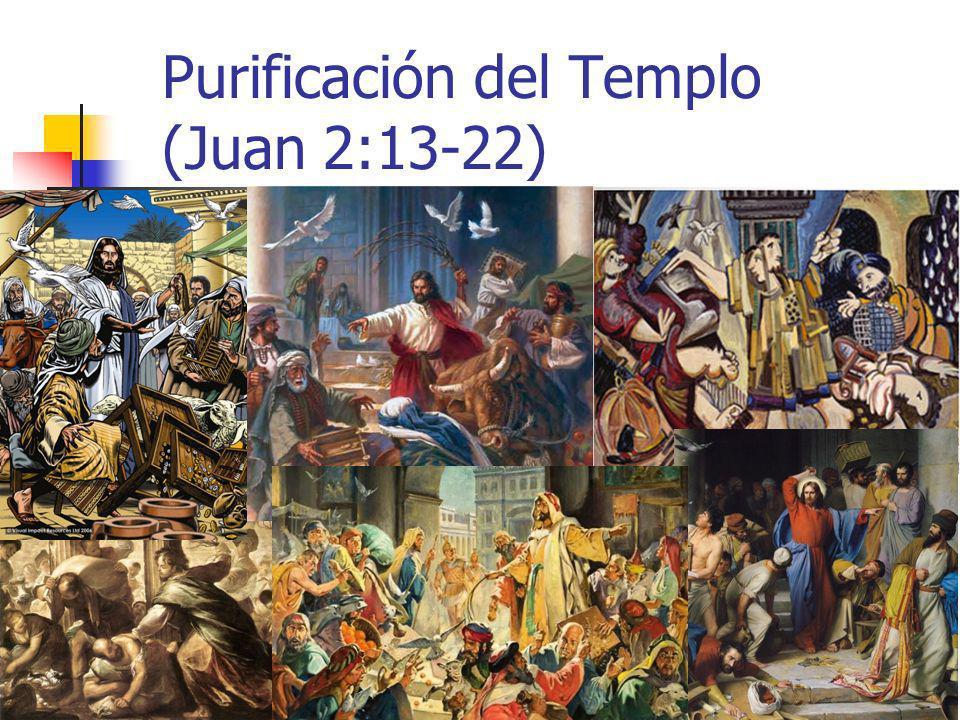 Purificación del Templo (Juan 2:13-22)