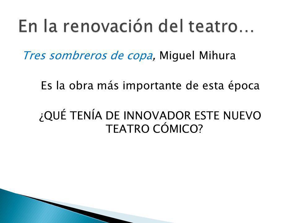 En la renovación del teatro…