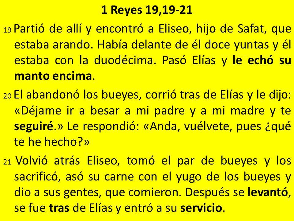 1 Reyes 19,19-21