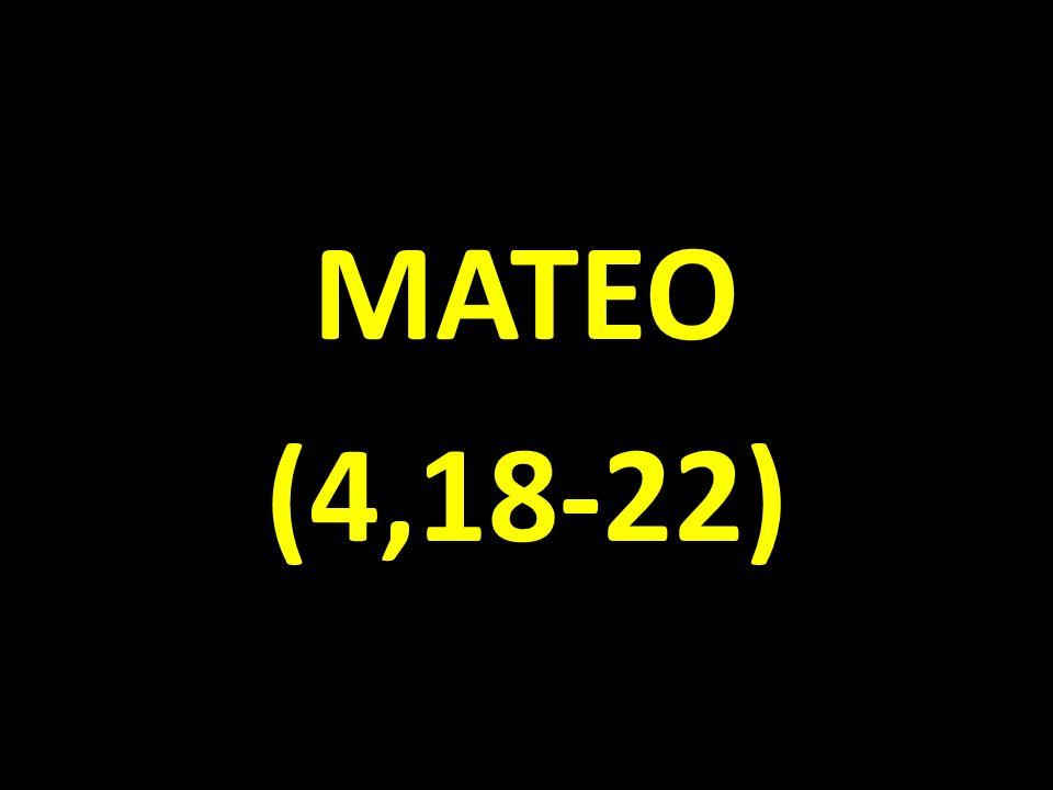 MATEO (4,18-22)