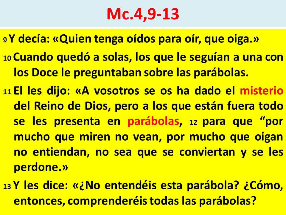 Mc.4,9-13