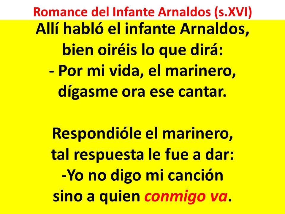 Romance del Infante Arnaldos (s.XVI)