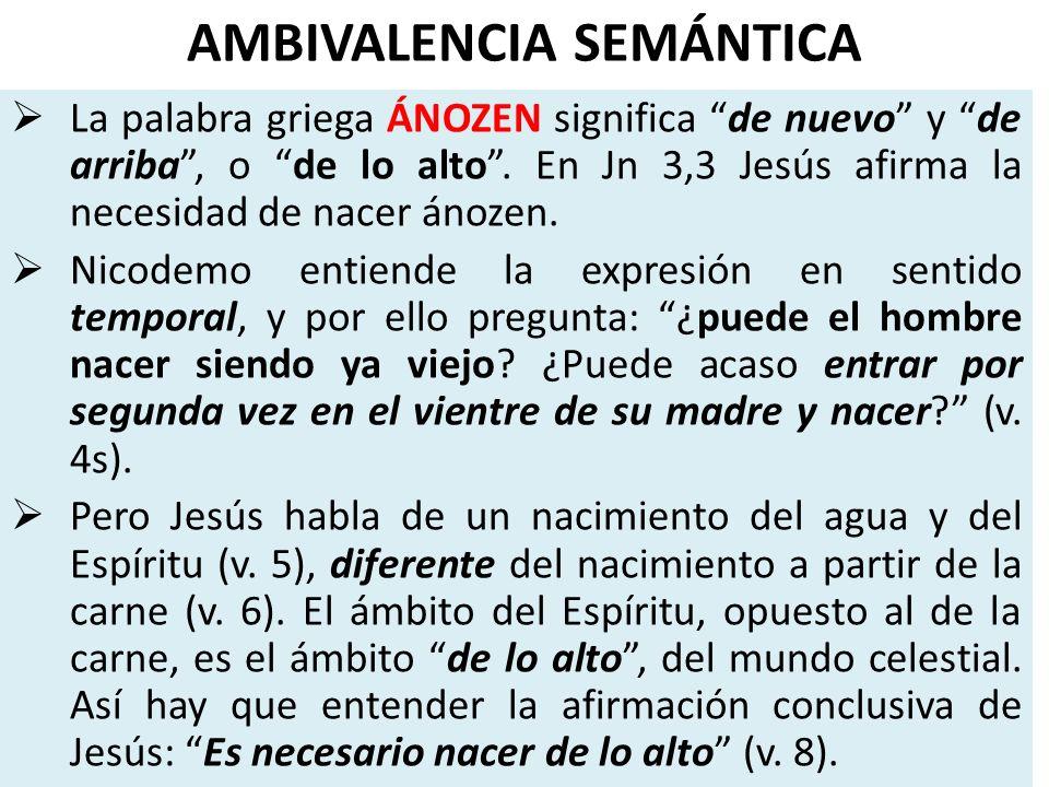 AMBIVALENCIA SEMÁNTICA