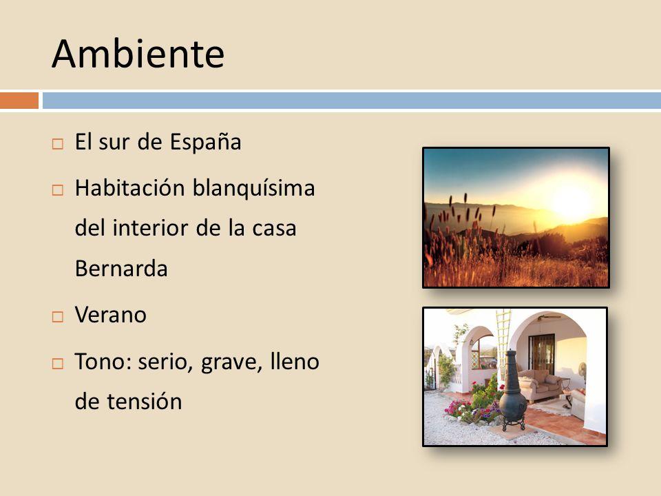 Ambiente El sur de España