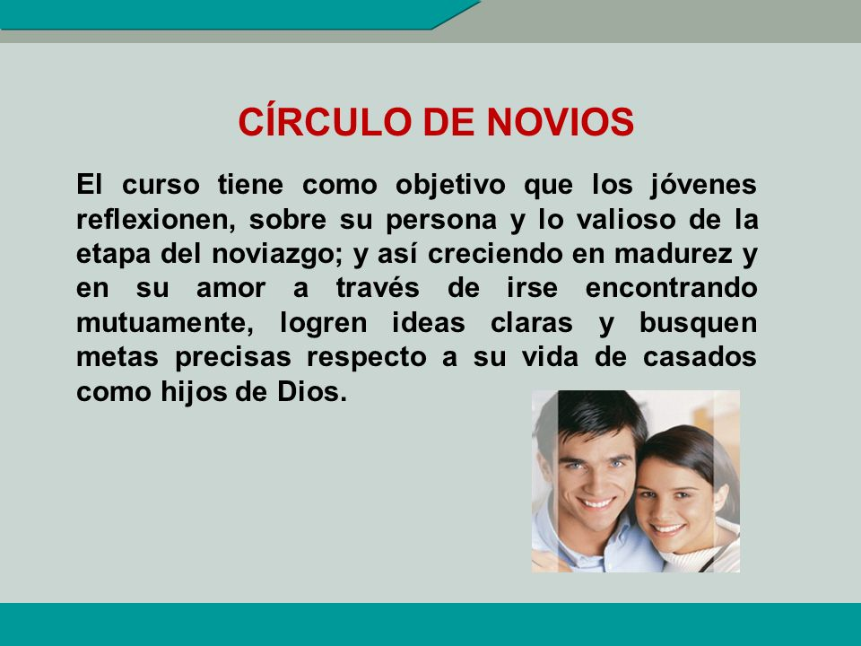 CÍRCULO DE NOVIOS