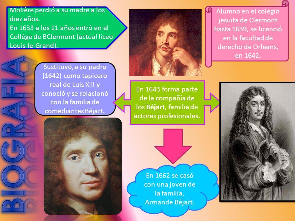 En 1662 se casó con una joven de la familia, Armande Béjart.