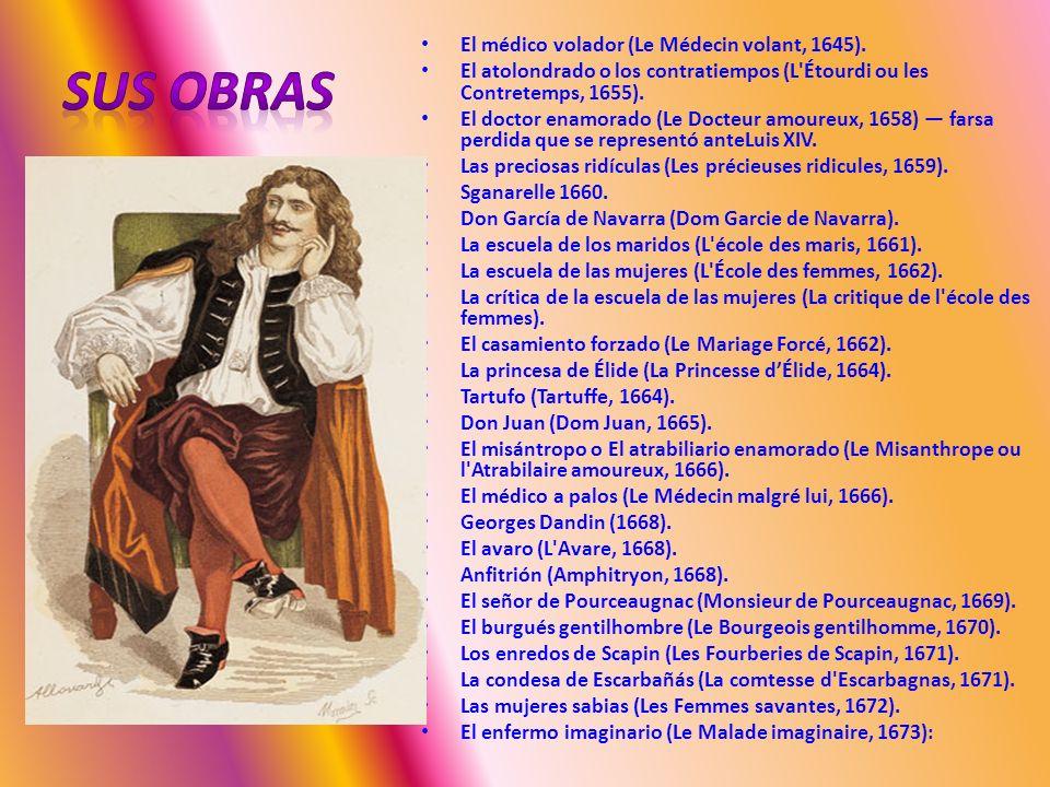 SUS OBRAS El médico volador (Le Médecin volant, 1645).