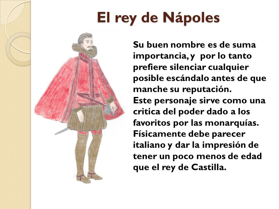 El rey de Nápoles