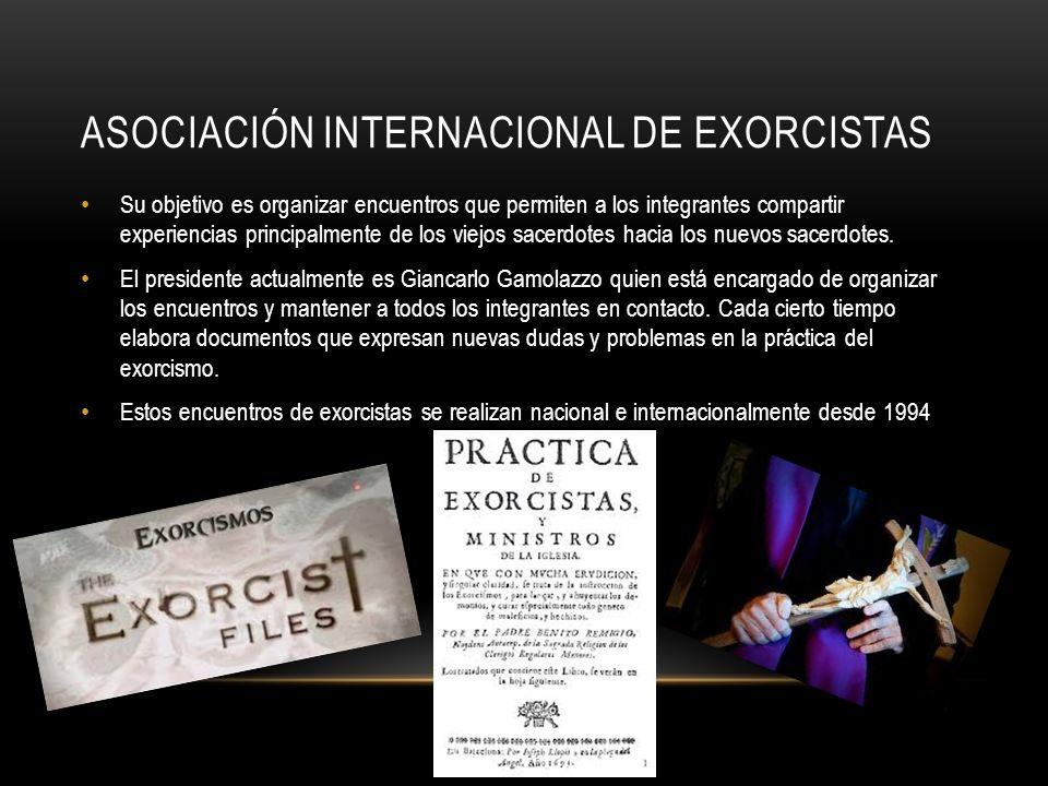 Asociación Internacional de exorcistas